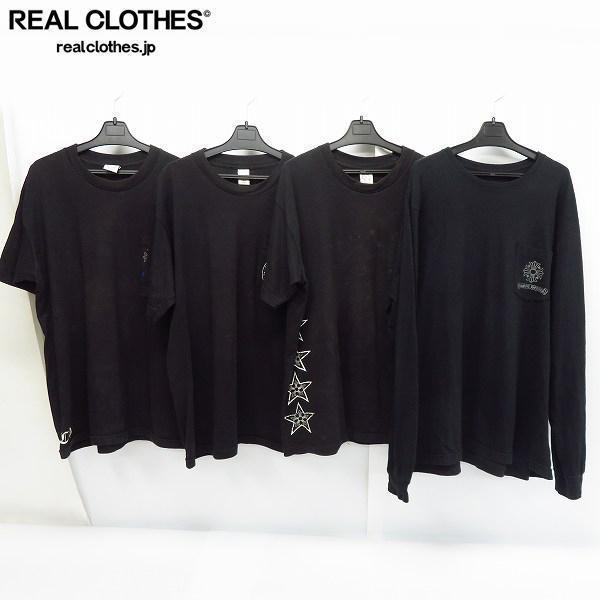 CHROME HEARTS/クロムハーツ 半袖/長袖 Tシャツ/ロングTシャツ/L/XL/4点セット /060