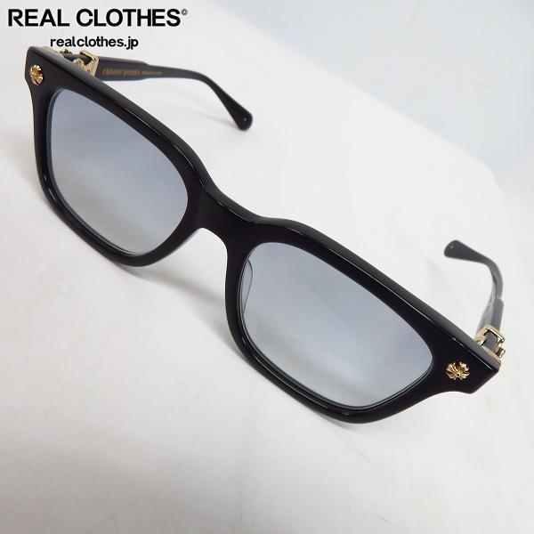 CHROME HEARTS/クロムハーツ COX UCKER BK-18KGP 眼鏡 メガネフレーム/アイウェア