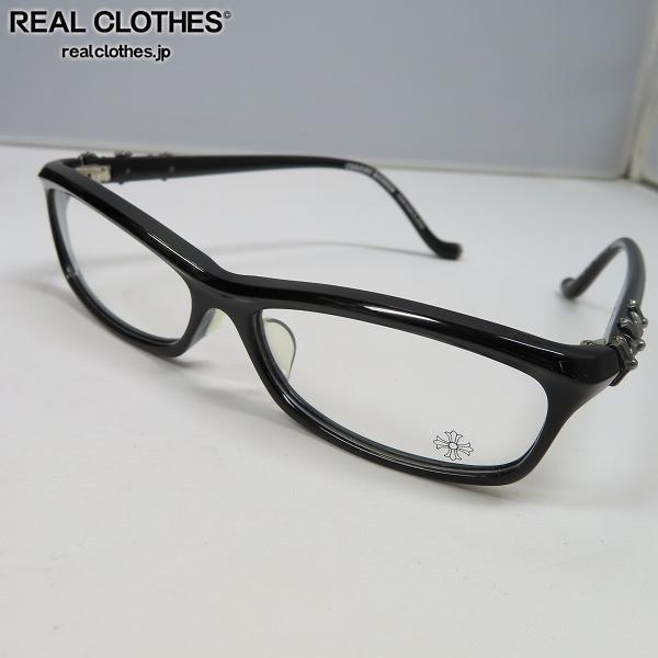 【インボイス】CHROME HEARTS/クロムハーツ BEARDED BABY-A 眼鏡/メガネフレーム/アイウェア