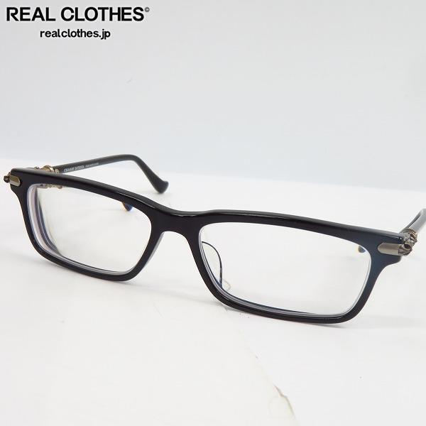 CHROME HEARTS/クロムハーツ CORNHAULASS-A BK フルリム メガネフレーム/アイウェア/眼鏡