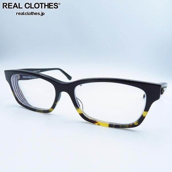 CHROME HEARTS/クロムハーツ DROP BOX/ドロップボックス 度入り BMZ アイウェア/メガネフレーム/眼鏡
