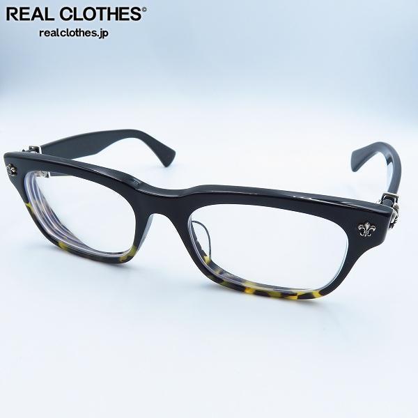 CHROME HEARTS/クロムハーツ GITTIN ANY-A BMZ 度入り メガネフレーム/アイウェア/眼鏡