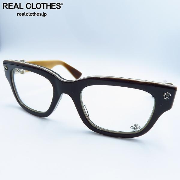 CHROME HEARTS/クロムハーツ BANGADANG I フレア ウェリントン型 メガネフレーム/アイウェア/眼鏡