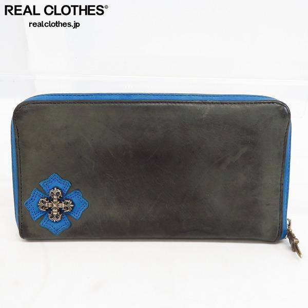 Chrome Hearts/クロムハーツ REC-F フィリグリープラス ラウンドファスナーウォレット/長財布