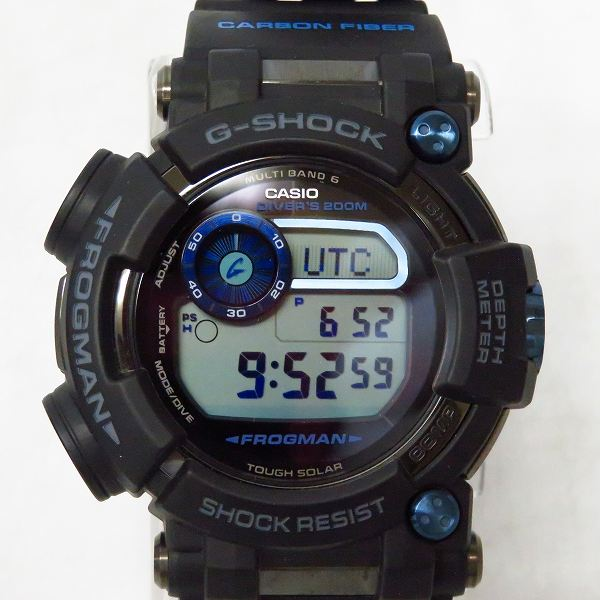 高価買取アイテムのG-SHOCK/Gショック FROGMAN/フロッグマン マスターオブG タフソーラー GWF-D1000B-1JFの買取上限価格は50,000円
