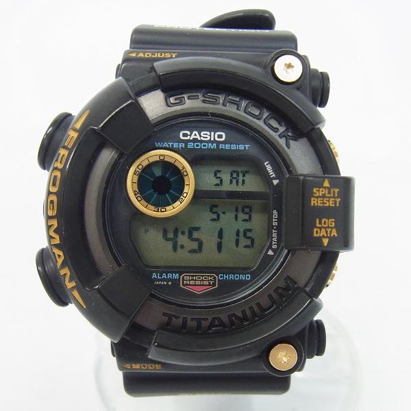 高価買取アイテムのG-SHOCK/Gショック FROGMAN/フロッグマン 黒金蛙 DW-8200B-9Aの買取上限価格は55,000円