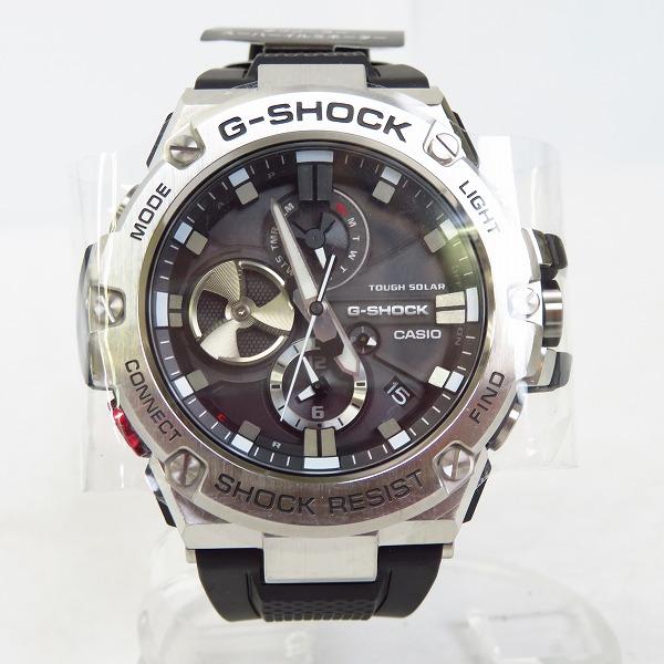 高価買取アイテムのG-SHOCK/Gショック G-STEEL/ジースチール Bluetooth搭載 タフネスクロノグラフ GST-B100-1AJFの買取上限価格は23,000円