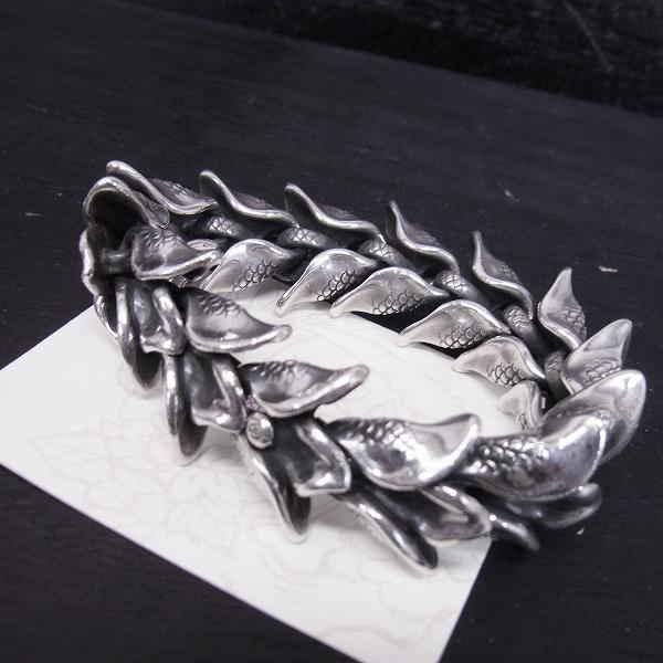 高価買取アイテムのBloody Mary/ブラッディマリー Mermaid マーメイドフィンブレスレット Size:Lの買取上限価格は60,000円