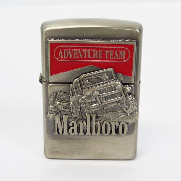 高価買取アイテムのZIPPO/ジッポー Marlboro/マルボロ アドベンチャーチーム 97年製の買取上限価格は10,000円