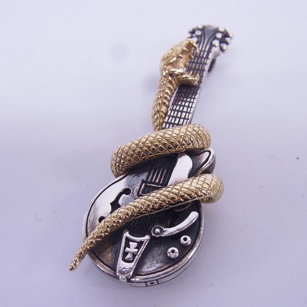 高価買取アイテムのDEAL DESIGN/ディールデザイン K18 ヘルズギター ペンダントの買取上限価格は33,000円