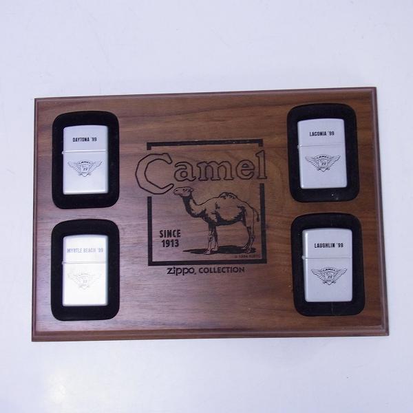 高価買取アイテムのZIPPO/ジッポー CAMEL/キャメル 99年 Roadhouse Tour 4点セットの買取上限価格は8,000円