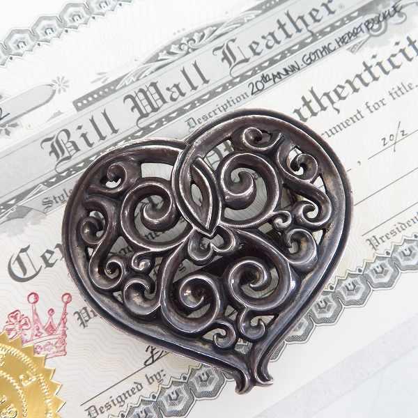 高価買取アイテムのBWL/ビルウォールレザー(Bill Wall Leather) 20th アニバーサリー ゴシックハートバックルの買取上限価格は55,000円