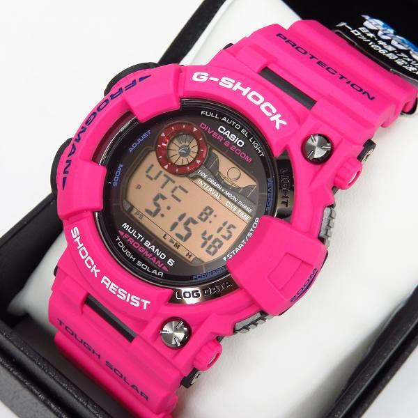 高価買取アイテムのG-SHOCK/Gショック FROGMAN/フロッグマン メン イン サンライズパープル GWF-1000SR-4JFの買取上限価格は70,000円