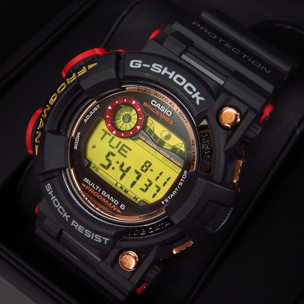 高価買取アイテムのG-SHOCK/Gショック 35周年記念限定 マグマオーシャン FROGMAN/フロッグマン GWF-1035F-1JRの買取上限価格は75,000円
