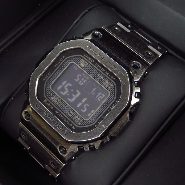 高価買取アイテムのG-SHOCK/Gショック フルメタルスクエア/エイジド加工/Bluetooth GMW-B5000V-1JRの買取上限価格は102,000円