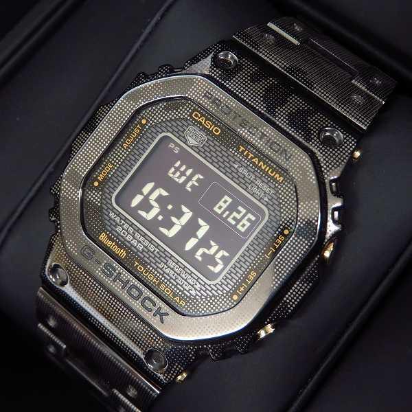高価買取アイテムのG-SHOCK/Gショック 限定 フルメタル チタン カモフラージュ 腕時計 GMW-B5000TCM-1JRの買取上限価格は125,000円