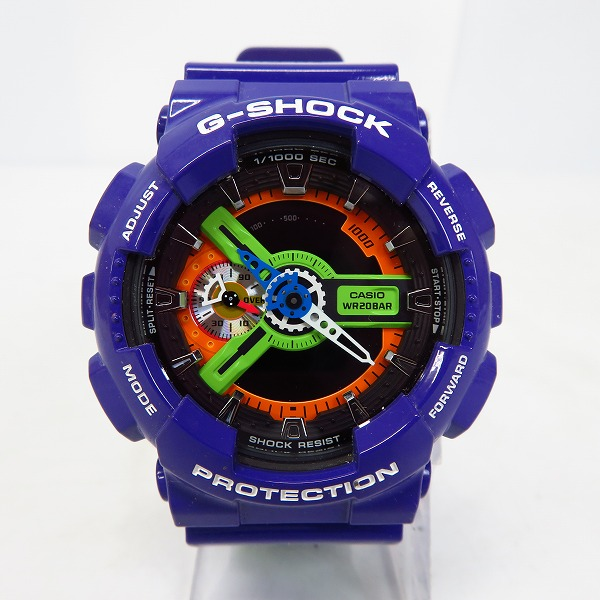 高価買取アイテムのG-SHOCK/Gショック×EVANGELION/エヴァンゲリオン 初号機 GA-110EV-6AJRの買取上限価格は45,000円