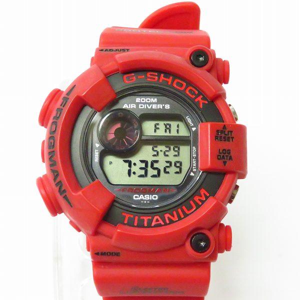 高価買取アイテムのG-SHOCK/Gショック FROGMAN/フロッグマン 2000年特別仕様モデル 赤蛙 DW-8200F-4JRの買取上限価格は35,000円