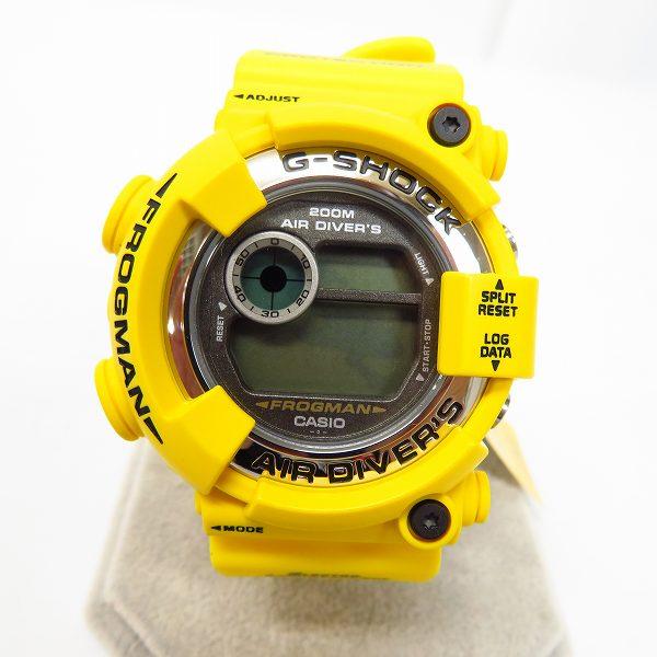高価買取アイテムのG-SHOCK/Gショック FROGMAN/フロッグマン メンインイエロー DW-8250Y-9Tの買取上限価格は30,000円