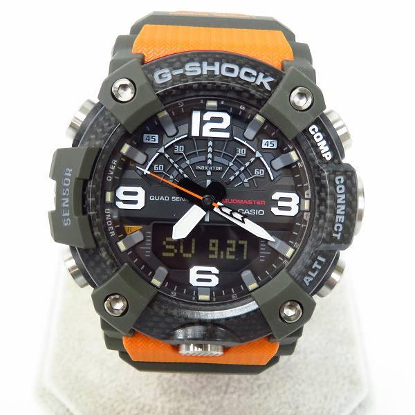 高価買取アイテムのG-SHOCK/Gショック MUDMASTER/マッドマスター カーボンベゼル Bluetooth対応 GG-B100-1A9JFの買取上限価格は20,000円