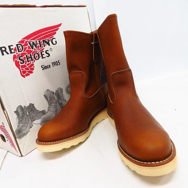 高価買取アイテムのRED WING/レッドウィング 866 PECOS BOOTS/ペコス ブーツ 866の買取上限価格は18,000円