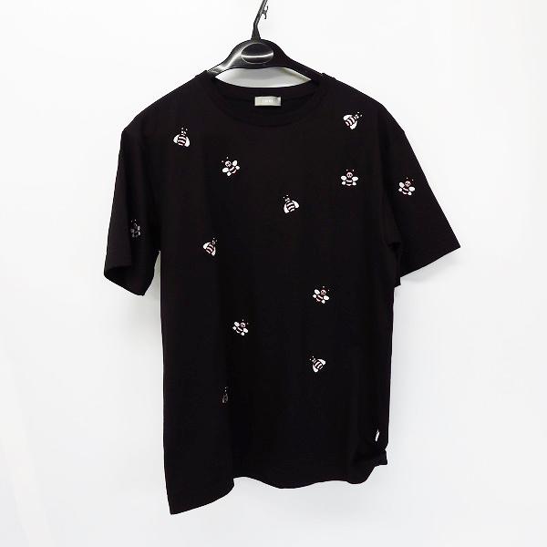 高価買取アイテムのDIOR/ディオール 923J609W5041 ×KAWS/カウズ 19SS BEE刺繍 半袖Tシャツ ブラック 923J609W5041の買取上限価格は25,000円