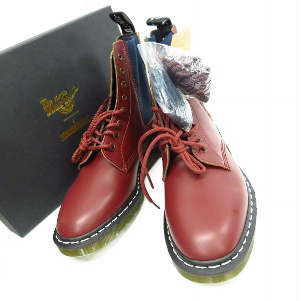 高価買取アイテムのDr.Martens×NEIGHBORHOOD/ドクターマーチン×ネイバーフッド NHDM. 8EYE GUSSET BOOTS 24224601/8ホール ガセット ブーツ 24224601の買取上限価格は22,000円