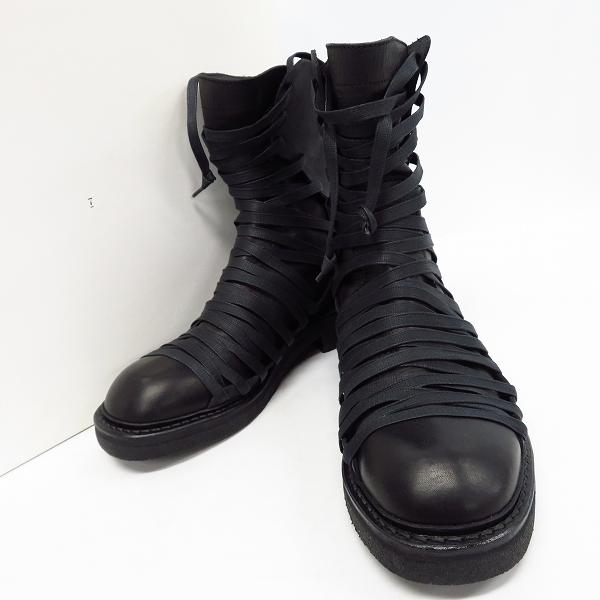 高価買取アイテムのJULIUS/ユリウス 2014SS Collection [ ghost; ] バインドブーツ 457FWM2の買取上限価格は40,000円