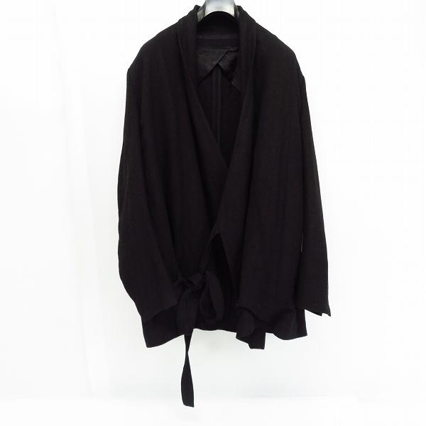 高価買取アイテムのJULIUS/ユリウス 2020AW Collection [ DUKKHA; ] ストライプジャガード 羽織 ジャケット ブラック 717JAM2の買取上限価格は25,000円