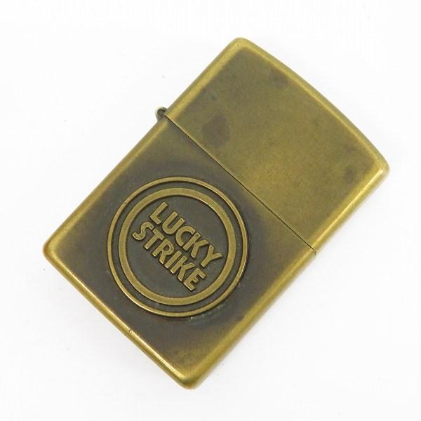 高価買取アイテムのZIPPO/ジッポー LUCKY STRIKE/ラッキーストライク メタル貼りの買取上限価格は55,000円