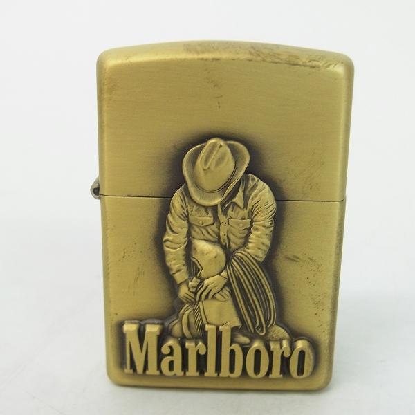 高価買取アイテムのZIPPO/ジッポー Marlboro/マルボロ カウボーイ/Bコース 98年製の買取上限価格は96,000円