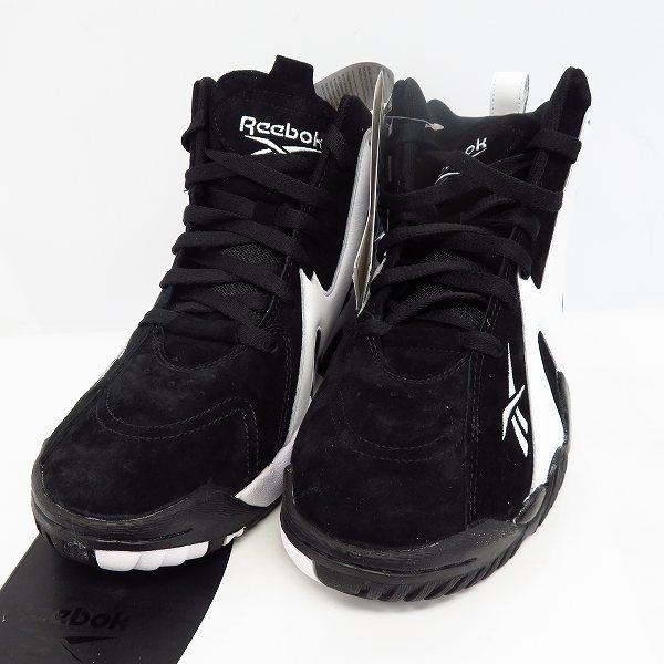 高価買取アイテムのReebok/リーボック Kamikaze2 Shoes カミカゼ 2 FV2969 Reebok/リーボック Kamikaze2 Shoes カミカゼ 2 FV2969/ブラック×ホワイトの買取上限価格は7,000円