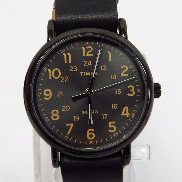 高価買取アイテムのTIMEX/タイメックス WEEKENDER LEATHER STRAP/ウィークエンダー レザーストラップ 腕時計/ウォッチ T2P494の買取上限価格は5,000円