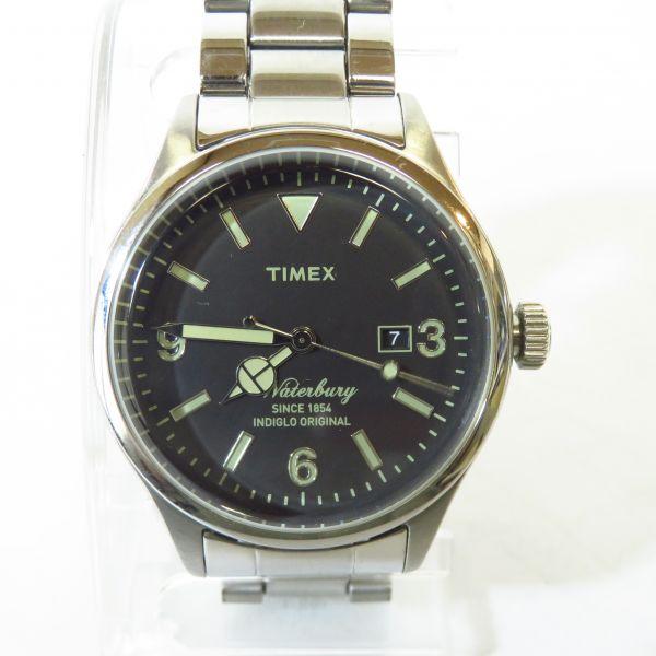高価買取アイテムのTIMEX/タイメックス The WaterburyDate/ウォ-ターベリーデイト 腕時計/ウォッチ TW2P75100の買取上限価格は7,000円