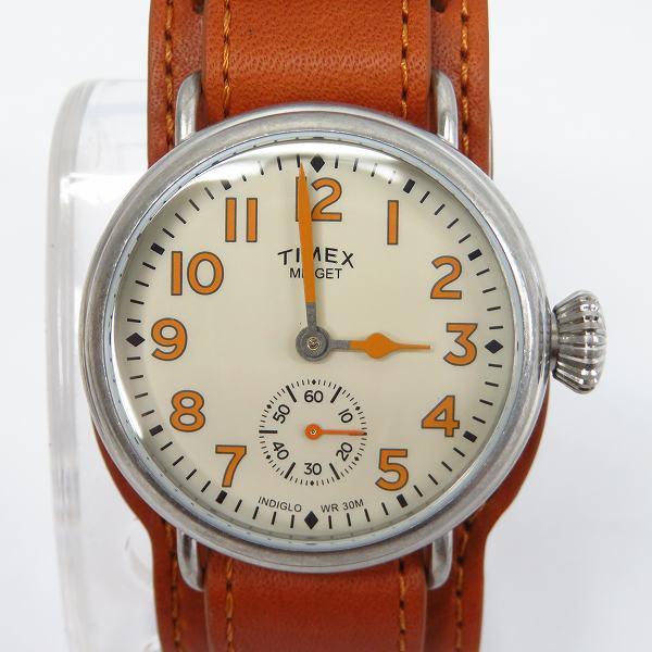 高価買取アイテムのTIMEX/タイメックス TIMEX/タイメックス MIDJET/ミジェット 日本企画限定モデル 腕時計/ウォッチ TW2R45000の買取上限価格は4,000円