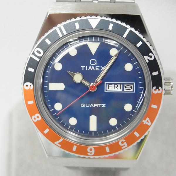 高価買取アイテムのTIMEX/タイメックス TIMEX Q/タイメックスキュー ダイバーズルック 腕時計/ウォッチ オレンジ×ネイビー TW2U6110の買取上限価格は13,000円