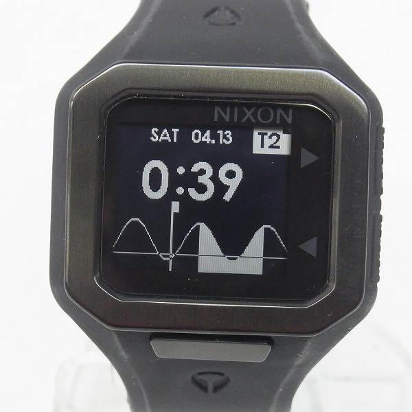 高価買取アイテムのNIXON/ニクソン THE SUPER TIDE QUARTZ WATCH ALL BLACK NA316001-00/スーパータイド クオーツ 腕時計 オールブラック NA316001-00の買取上限価格は10,000円
