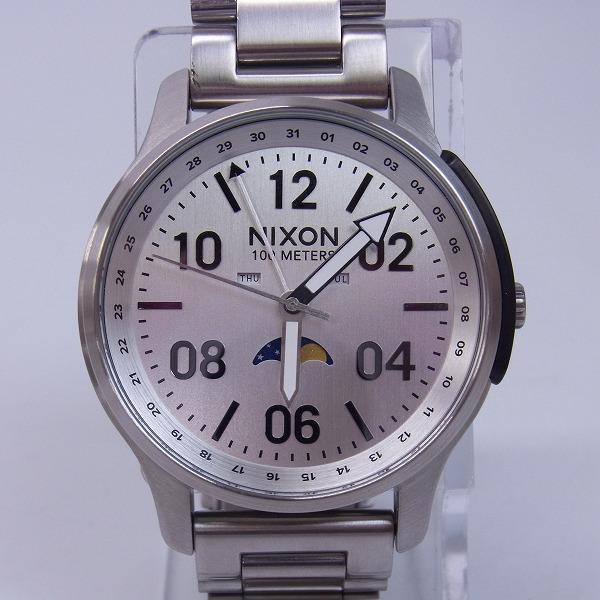 高価買取アイテムのNIXON/ニクソン THE ASCENDER QUARTZ WATCH ALL SILVER NA12081920-00/アセンダー クオーツ 腕時計 オールシルバー NA12081920-00の買取上限価格は5,000円