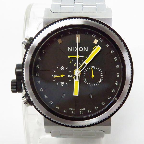 高価買取アイテムのNIXON/ニクソン TRADER GRAND PRIX QUARTZ WATCH SILVER NA1531227-00/トレーダー グランプリ クオーツ 腕時計 シルバー NA1531227-00の買取上限価格は10,000円