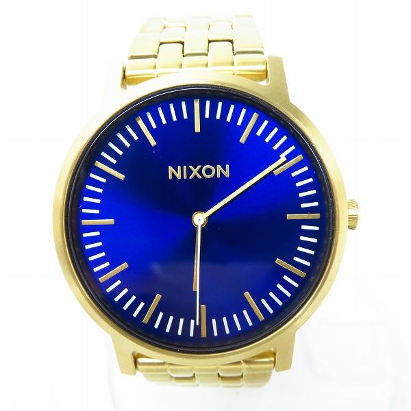 高価買取アイテムのNIXON/ニクソン THE PORTER SS QUARTZ WATCH ALL GOLD A1057-2735/ポーター クオーツ 腕時計 オールゴールド A1057-2735の買取上限価格は5,000円