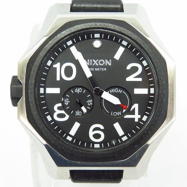 高価買取アイテムのNIXON/ニクソン THE TANGENT QUARTZ WATCH SILVER A397000/タンジェント クオーツ 腕時計 シルバー A397000の買取上限価格は5,000円
