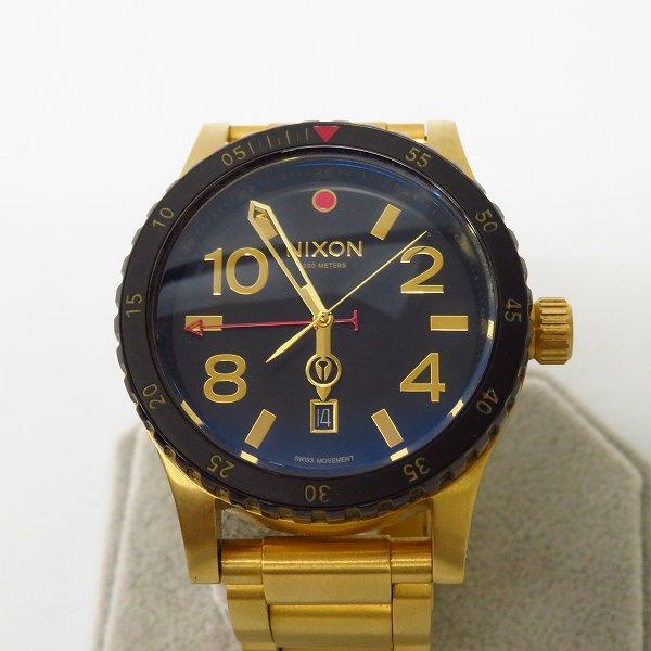 高価買取アイテムのNIXON/ニクソン THE DIPLOMAT SS QUARTZ WATCH GOLD A277-513/ディプロマット クオーツ 腕時計 ゴールド A277-513の買取上限価格は5,000円