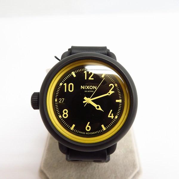 高価買取アイテムのNIXON/ニクソン THE OCTOBER QUARTZ WATCH MATT BLACK A4881354/オクトーバー クォーツ 腕時計 マットブラック A4881354の買取上限価格は6,000円