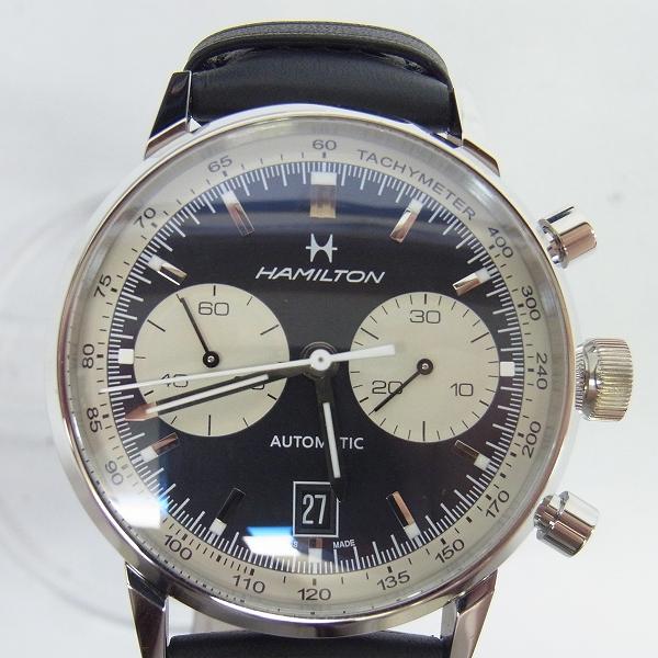 高価買取アイテムのHAMILTON/ハミルトン イントラマティック68 オートクロノ 世界限定1968本 腕時計/H38716731の買取上限価格は120,000円