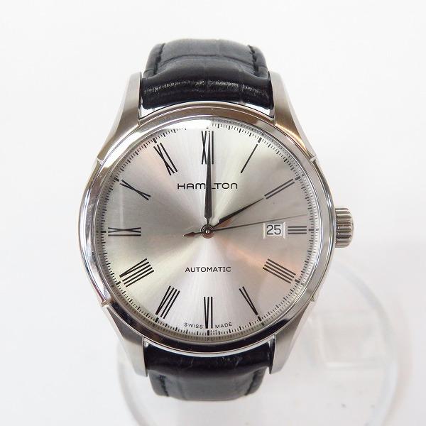 高価買取アイテムのHAMILTON/ハミルトン Valiant Auto/バリアント オート 腕時計 H39515754の買取上限価格は18,000円