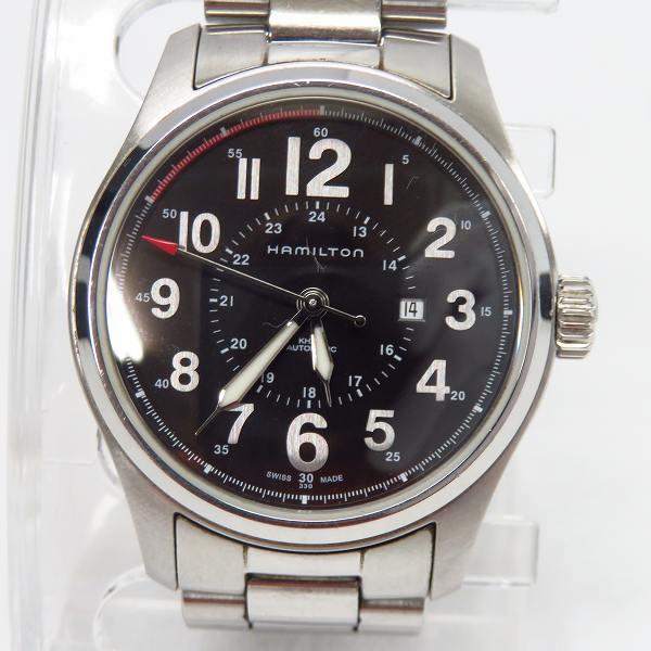 高価買取アイテムのHAMILTON/[ハミルトン KHAKI/カーキ フィールド オフィサー オートマチック 自動巻き 腕時計 H70365133の買取上限価格は18,000円