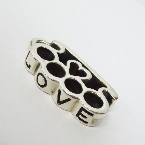 高価買取アイテムのFlash Point/フラッシュポイント LOVE knuckle pendant/ラブ ナックル ペンダント C-MAGの買取上限価格は8,000円
