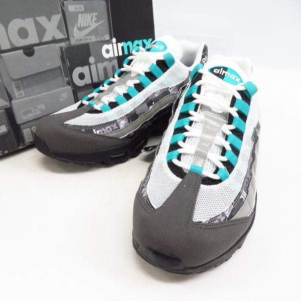 高価買取アイテムのNIKE/ナイキ×atmos/アトモス AIR MAX 95 PRNT/エアマックス95 WE LOVE NIKE AQ0925-001の買取上限価格は20,000円