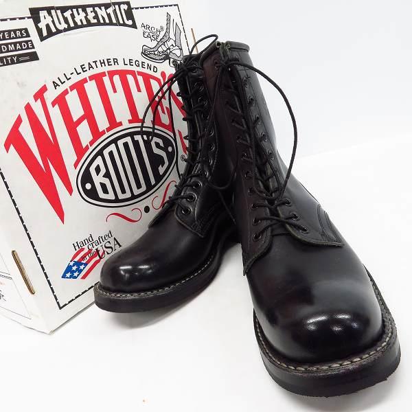 高価買取アイテムのWHITE'S BOOTS/ホワイツブーツ 8 height SMOKE JUMPER/8ハイト スモークジャンパー ブーツ ブラック 375Wの買取上限価格は38,000円