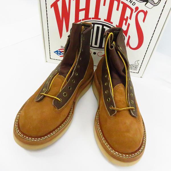 高価買取アイテムのWHITE'S BOOTS/ホワイツブーツ 町田のカントリー 別注 NORTH WEST/ノースウェスト レザー切替し ブーツ 350BNWCLの買取上限価格は32,000円